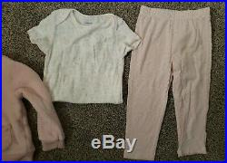 NWT Carter's baby girl 24M 13 piece clothing outfit lot set coveralls pants coat