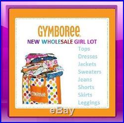 NWT GYMBOREE WHOLESALE GIRL CLOTHING LOT RV $300+ Size 12-24M, 2T-5T Pick size