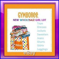 NWT GYMBOREE WHOLESALE GIRL CLOTHING LOT RV $300+ Size 2T-5T Pick size