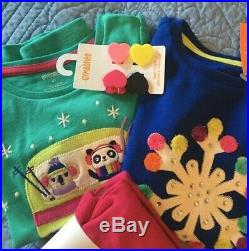 NWT Gymboree Girls 4 4T Fall Winter Clothing Lot Outfits 20 pieces mix & match
