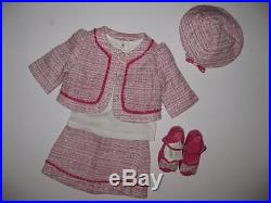 NWT Janie and Jack DARLING SOPHISTICATION Set Top Skirt Coat Hat Shoes 6 12 18