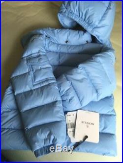NWT MONCLER KIDS 3T 100%AUTH DOWN JACKET (Winter Sale)DETACHABLE HOOD PASTELBLUE