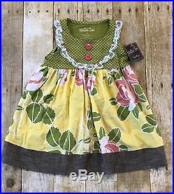 NWT NEW Girls Vintage Matilda Jane Hammond Bay Sunny Dress Size 2 HTF
