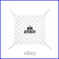 NWT NEW Givenchy Baby Boys girls white black logo footie romper hat 3pc set 1m