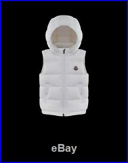 NWT NEW Moncler Enfant Albin boys girls puffer gilet vest 6/9 or 9/12m