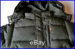 NWT Polo Ralph Lauren down Jacket 18 mon boy winter coat olive green