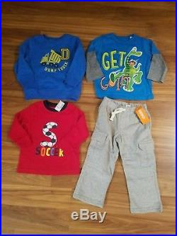 NWT Toddler Boys Fall/ Winter CLOTHES Lot Size 24M /2T