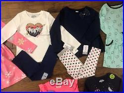 NWT Toddler Girl 4T Clothes 21 Piece Lot Winter Cartes Koala Oshkosh Circo