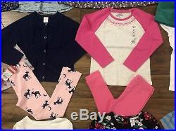 NWT Toddler Girl 5T Clothes 25 Piece Lot Winter Cartes Old Navy Oshkosh Circo