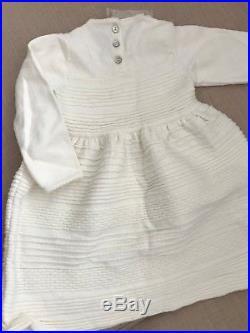 New Baby Dior white winter dress 24 months