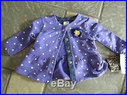 New Lot 18 Baby Girl Clothing Carters Sleepers Shirts Pants+ 3m 3 Mo Free Ship