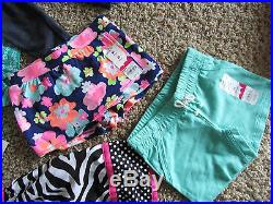 New Lot Of 10 Baby Girl 24 Month 2t Clothing Carters Dresses Shorts Tops Summer