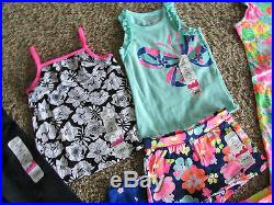 New Lot Of 12 Baby Girl 24 Month 2t Clothing Carters Dress Pants Shorts Summer