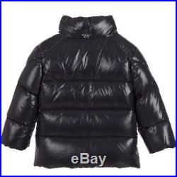 New Moncler Infant'K2' Boys Down Padded Jacket 9/12 Months Navy RRP £300