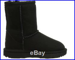 New Toddler Infant Ugg Boot Classic II Short Black 1017703t Water Resistant