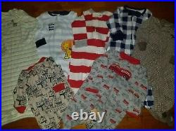 Newborn 0-3 Months Baby Boy Clothes 70 Piece Lot Outfits Sleepers Carter's+ Sets