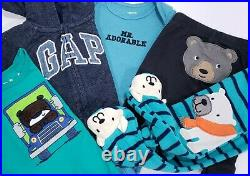 Newborn 0-3 Months Baby Boy Clothes Lot Outfits Sleepers Carter's Gap Sets