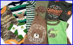 Newborn 0-3 Months Baby Boy Clothes Lot Outfits Sleepers Carter's Sets Camo