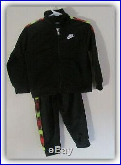 Nike Track Warm Up Suit 2pc Jacket Pants Set Boys Size 24 Months