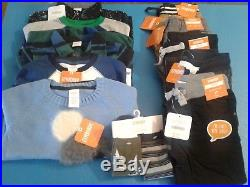 Nwt $318 Rv Gymboree Boys Size 2t 12 Pcs Lot Outfits Fall Winter