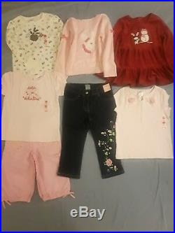 Nwt $592 Rv Gymboree Girls 27 Pc Lot Clothes Sets Size 4 4t Winter Spring Summer