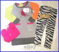 Nwt Girls Gymboree lot 4 4T fall Winter Clothes 21PCS Set tops dress jeans $450