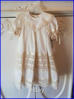 Nwts Strasburg Heirloom Dress Size 3 Ivory Gorgeous