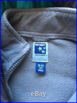 Old Navy Boys Winter Jacket With Removable Inside Size 18-24 Months
