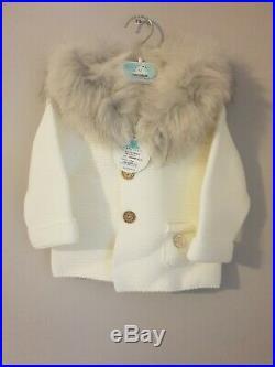 Pangasa Baby Ivory Jacket BNWT NEW AW19/20 12 MONTHS