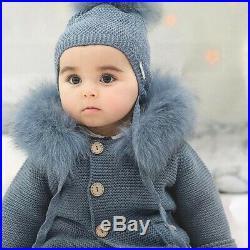 Pangasa Baby Petrol Blue Jacket And Hat Set