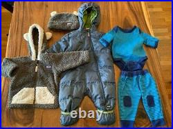 Patagonia/REI Unisex Baby 3-6 months winter clothes lot