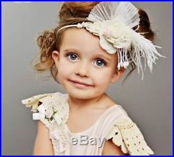 Pink Vintage Doll Frock Dollcake Dress & sash Size 1 Gorgeous! VERY RARE