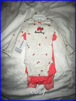 Premie girl baby clothes lot