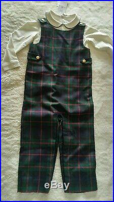 Ralph Lauren Baby Clothing 2 Piece Outfit 24 Month Fully Lined Jumper & Top NWT