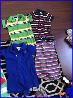 4bb7be281 Ralph Lauren polo Baby Boy s Size 3-24 Months Clothing Lot Of 30 pieces most