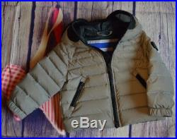 Riders On The Storm Baby Boys Designer Winter Coat 2 Years Excellent RRP £269