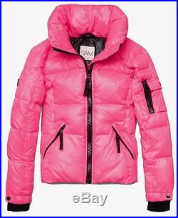 Sam New York Toddler Girls' Freestyle Down Puffer Jacket Flamingo Sz 2 Nwt $195