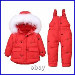 Set Winter Jumpsuit Children Boy Girl Children Clothing Baby Snowsuit Kids