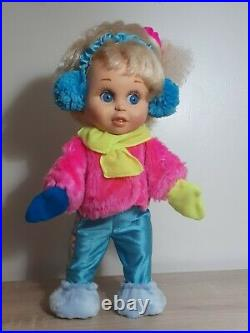 So Innocent Cynthia Galoob Baby Face Doll 1990 winter clothes