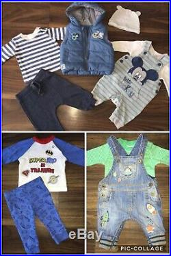 Stunning Baby Boys 0-3 Bundle Autumn Winter All You Need Must See