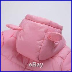 TeenMiro Baby Winter Clothes Newborn Fleece Bunting Infant Snowsuit Girl Boy Sno