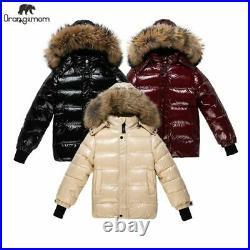 Teen Winter Coat Children Jacket Baby Boy Girl Clothes Warm Kids Waterproof