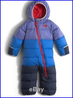 The North Face NWT Infant Lil' Snuggler Down Snow Suit Infant Boys Bunting 0-3 M