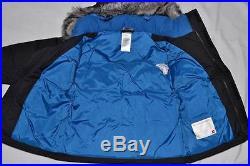 The North Face Toddler Boys Mcmurdo Parka Black Blue Size 3t Little Kids New