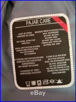 Toddler 3T PAJAR CANADA Parka goose Down Puffer Coat Jacket Gray real fur hood