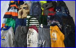 Used 25 Pc. Lot Of Newborn Baby Boy Clothes 3-6 Months Euc/vguc