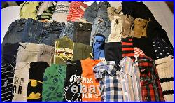 Used 39 Pc. Lot Of Baby Boy Clothes 12-18 Months Euc/vguc