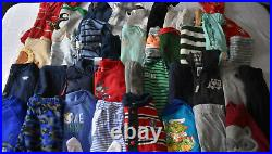 Used 40 Pc. Lot Of Newborn Baby Boy Clothes 0-3 Months Euc/vguc