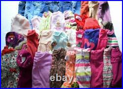 Used 42 Pc. Lot Of Baby Girl Clothes 24 Months/2t Euc/vguc