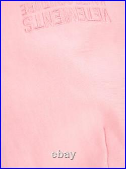 VETEMENTS Men's Clothing Knitwear Baby Pink NIB Authentic